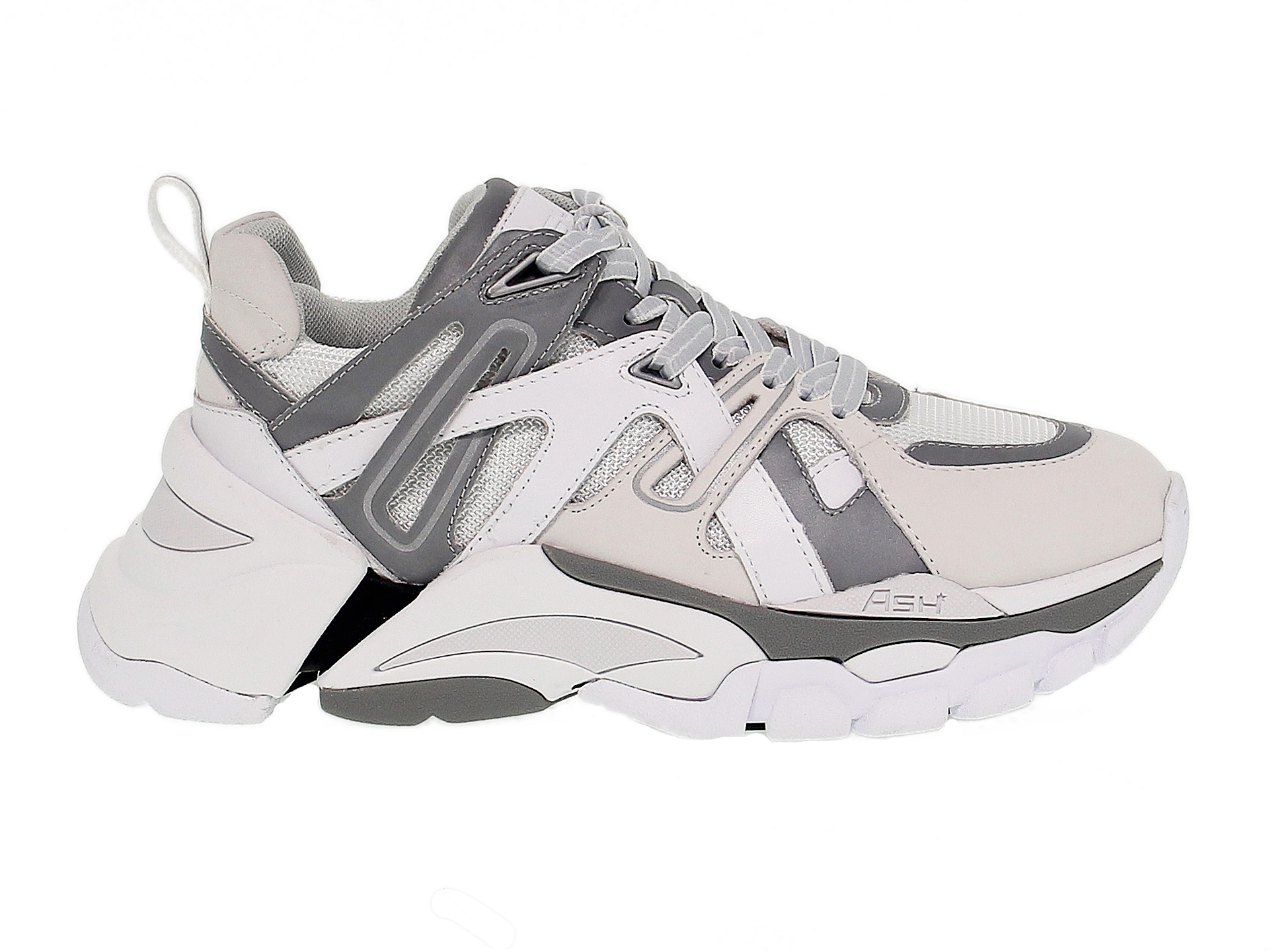 Sneakers Ash FLASH in white leather