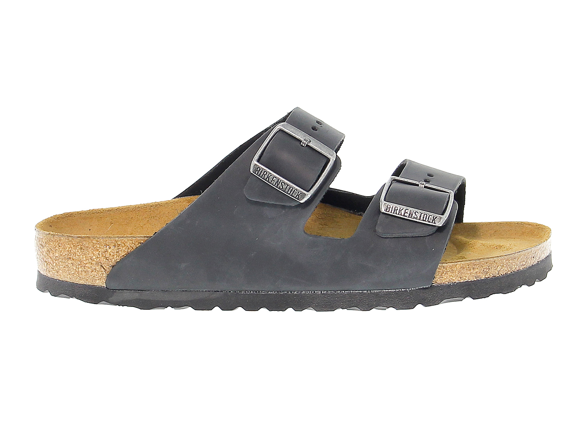 Flache sandalen Birkenstock ARIZONA aus Leder