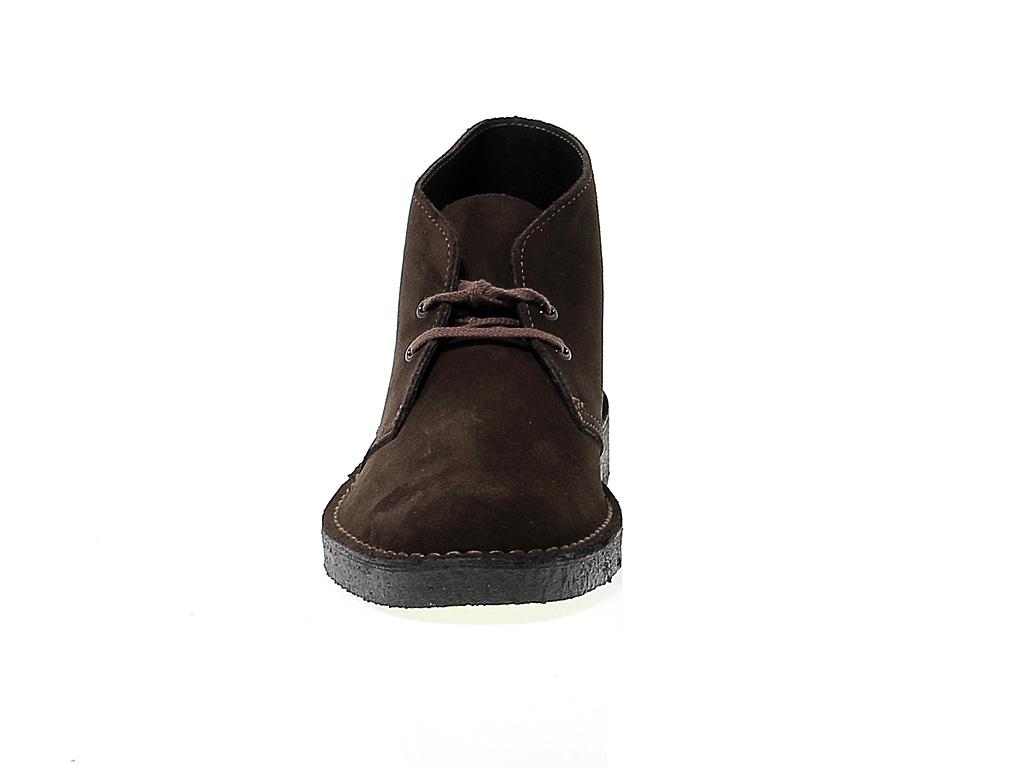 Detalles de Bota baja Clarks D B M SBR de gamuza marrón Zapatos Hombre
