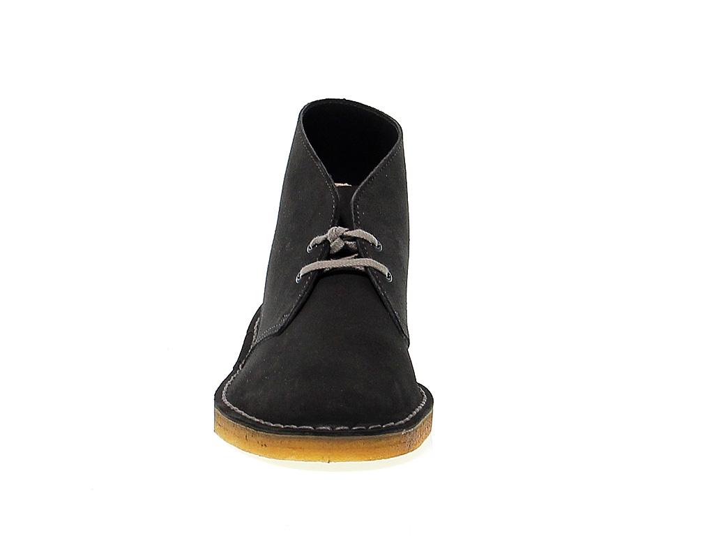 Detalles de Bota baja Clarks D B M SDG de gamuza gris oscuro Zapatos Hombre