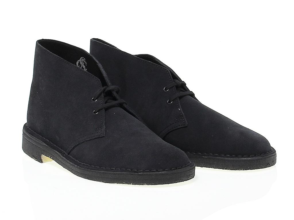 Detalles de Bota baja Clarks D B M SNA de gamuza marina Zapatos Hombre