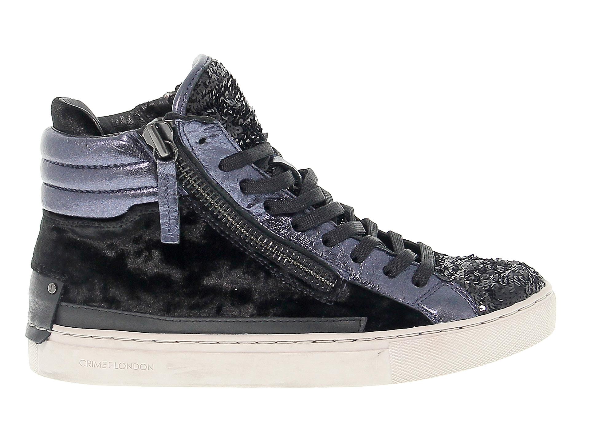 Sneakers Crime London in pelle