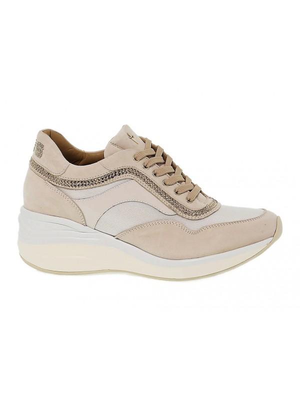 Sneakers Cesare Paciotti 4us in pelle - Sneakers - Scarpe Donna ... a27e705ea05