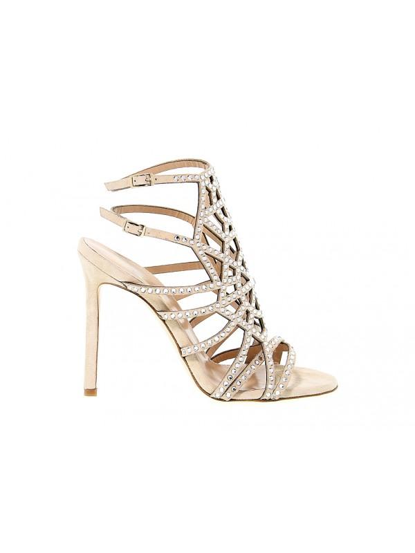 Sandalo con tacco Chon