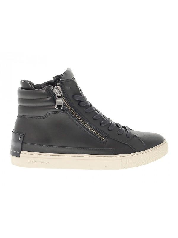 Sneakers Crime London JAVA HI in pelle