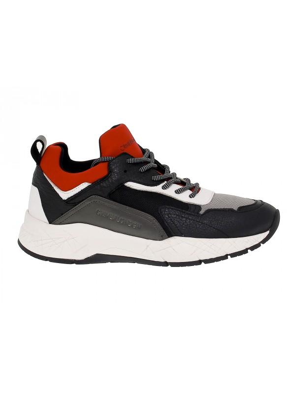 Sneakers Crime London KOMRAD in pelle