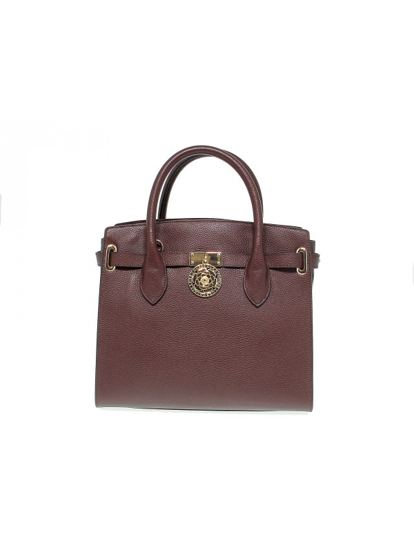 Borsa a mano Guess PEONY in pelle