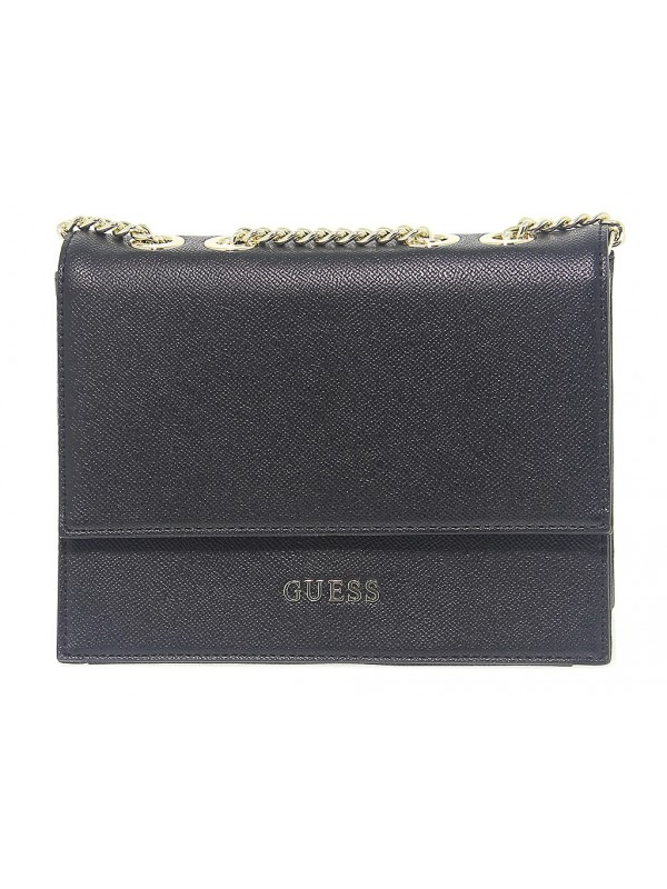 Borsa a tracolla Guess CHARME in pelle