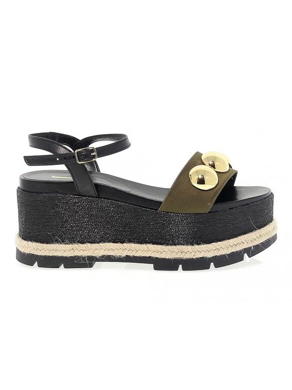 Sandalo basso Jeannot in pelle