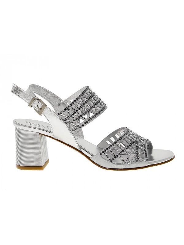 Sandalo con tacco Pasquini Calzature in pelle