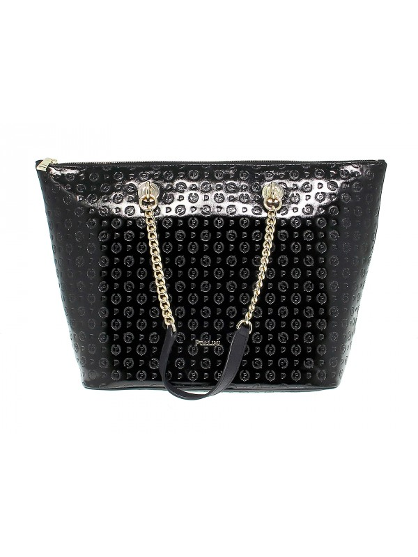 Shopping bag Pollini EMBOSSED in pelle
