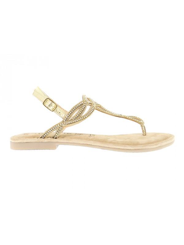 Sandalo basso Tamaris in pelle