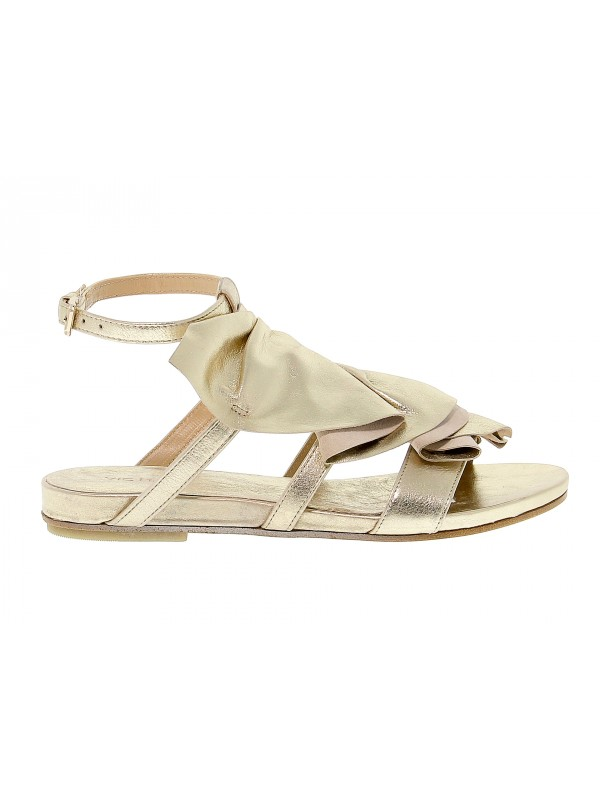 size 40 a7ab1 25fbe Sandalo basso Vic Matie ALAB in pelle