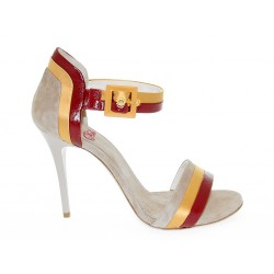 Sandalo con tacco Fabi