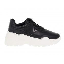Sneakers Windsor Smith CARTE-BRAVE-BLKWHT in pelle