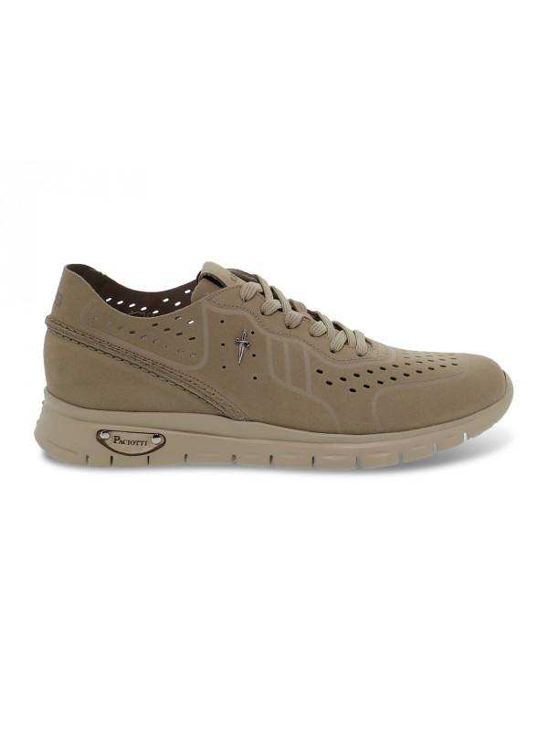 Sneakers Cesare Paciotti 4us MADISON 4US in camoscio sabbia