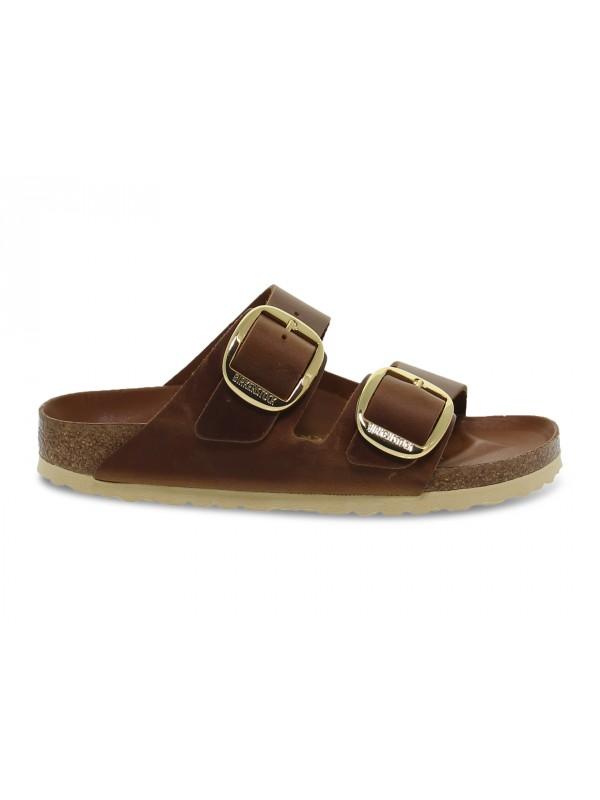 Sandalo basso Birkenstock ARIZONA BIG BUCKLE in pelle cuoio