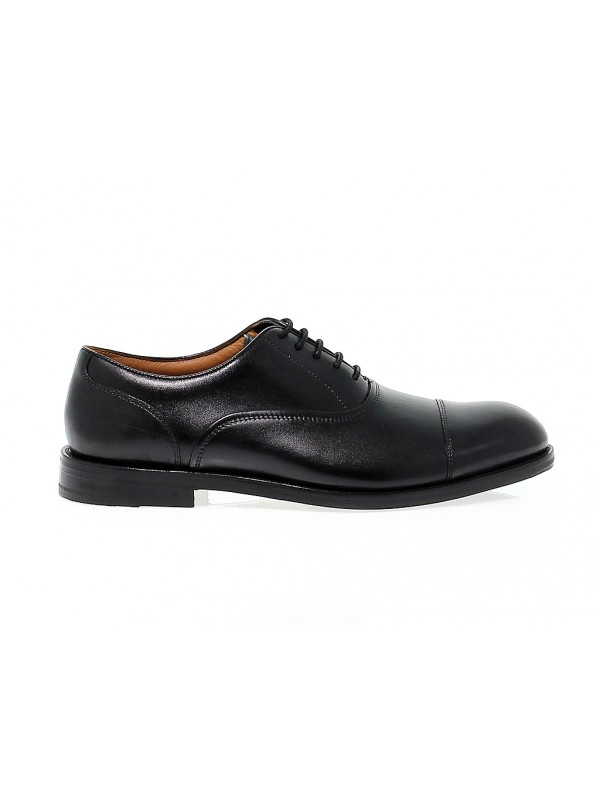 Stringata Clarks COLING BOSS in pelle nero