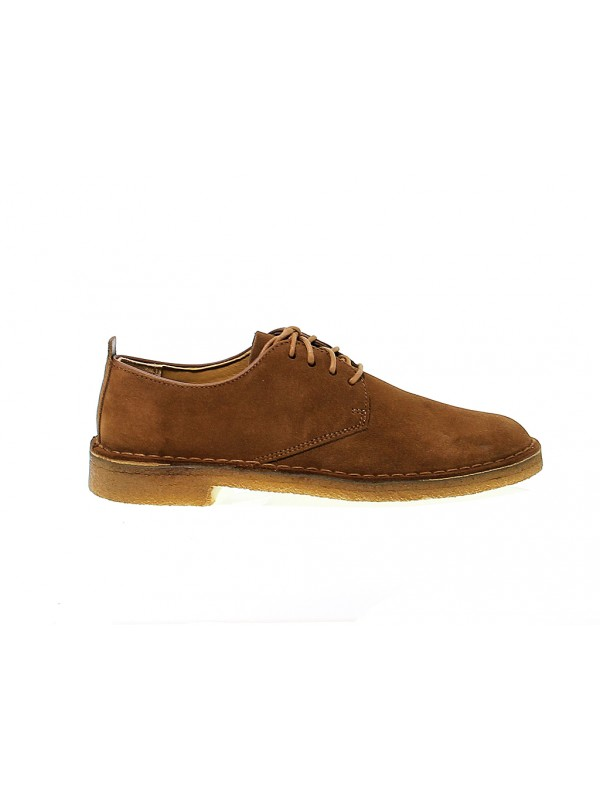 Stringata Clarks DESERT LONDON in camoscio cola