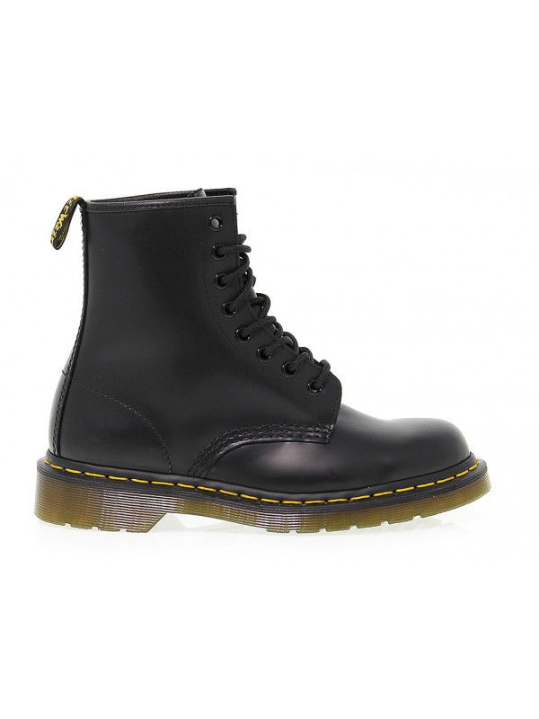 Polacco Dr. Martens 8 EYE BOOT in pelle nero