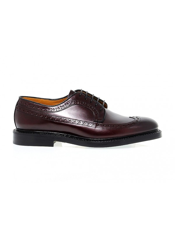 Stringata Fabi Must Eve MUST EVE JIMMY in pelle bordeaux