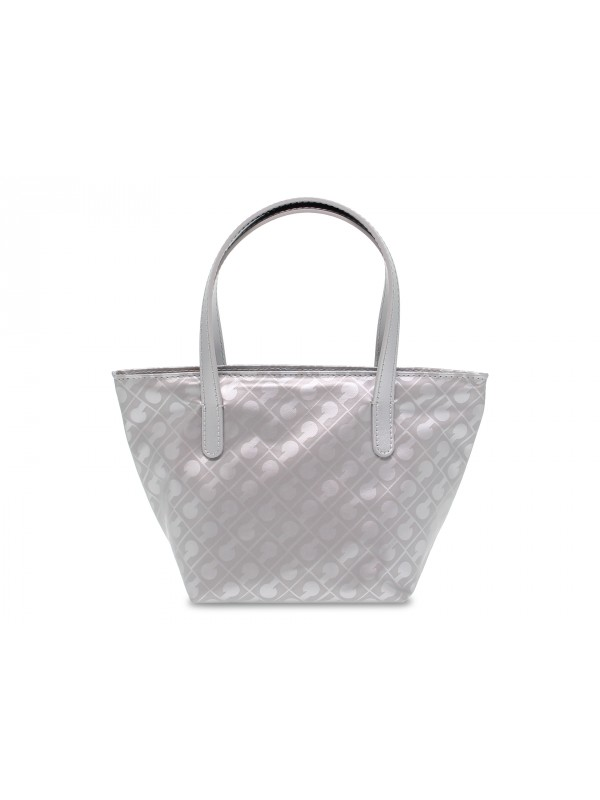 Shopping bag Gherardini EASY SHOPPING BAG MINI in tessuto e pelle grigio