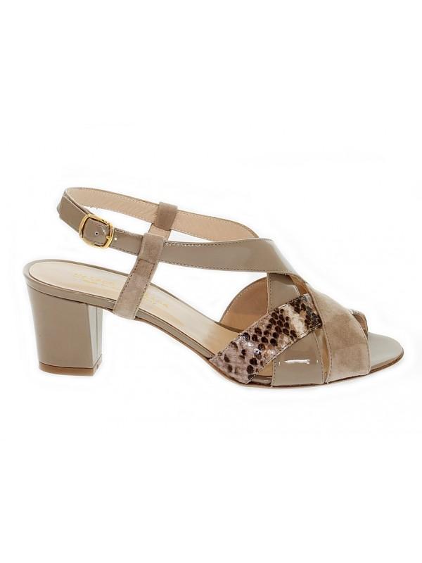 Sandalo con tacco Martina