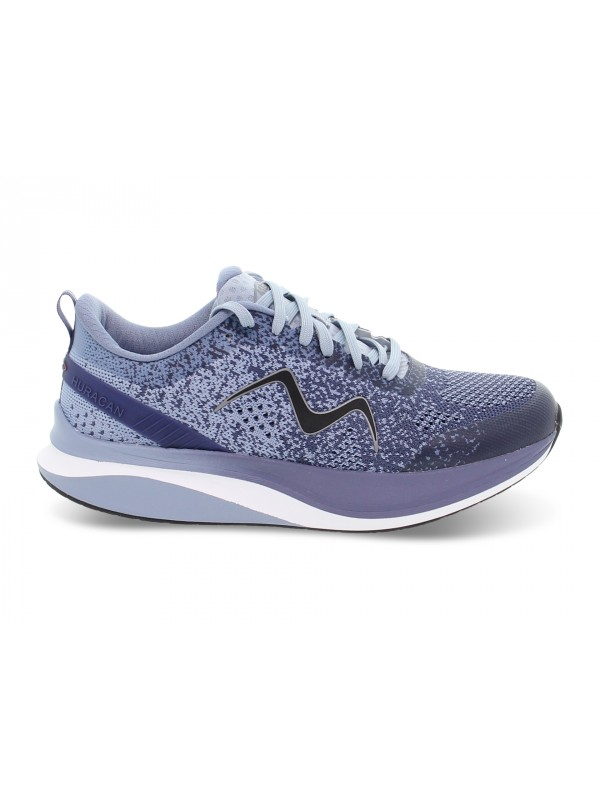 Sneakers MBT HURACAN 3000 LACE UP M in tessuto e ecopelle blu e grigio