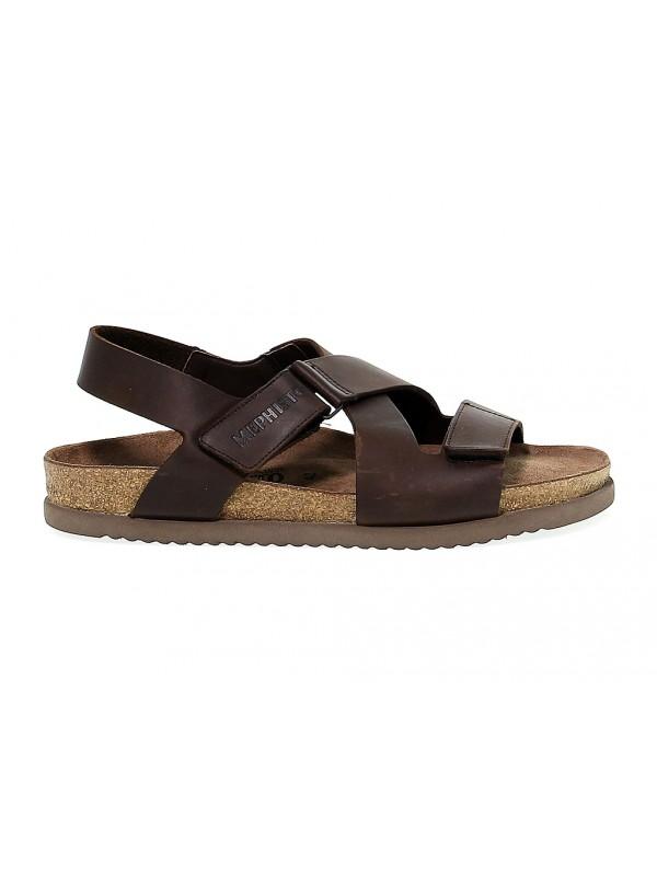 Sandalo Mephisto NADEK in nabuk marrone scuro
