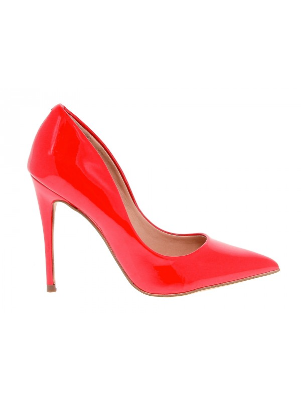 Décolleté Steve Madden DAISIE PATENT RED in ecopelle e vernice rosso