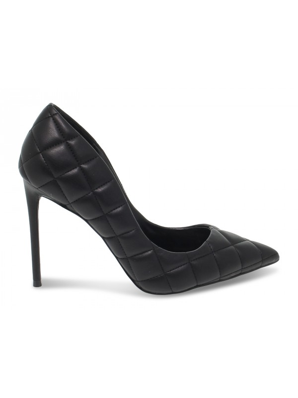 Décolleté Steve Madden VALA Q SYNTHETIC BLACK in ecopelle nero