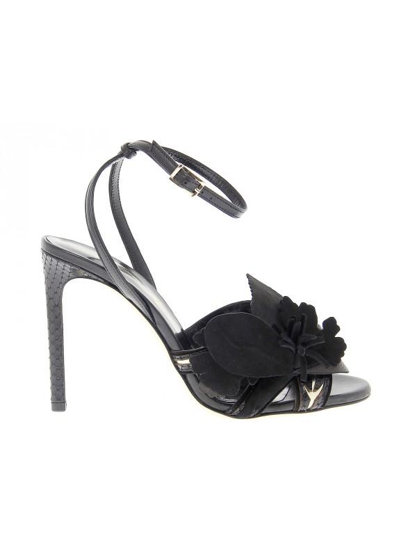 Sandalo con tacco Sofia M. ANASTASIA in pelle