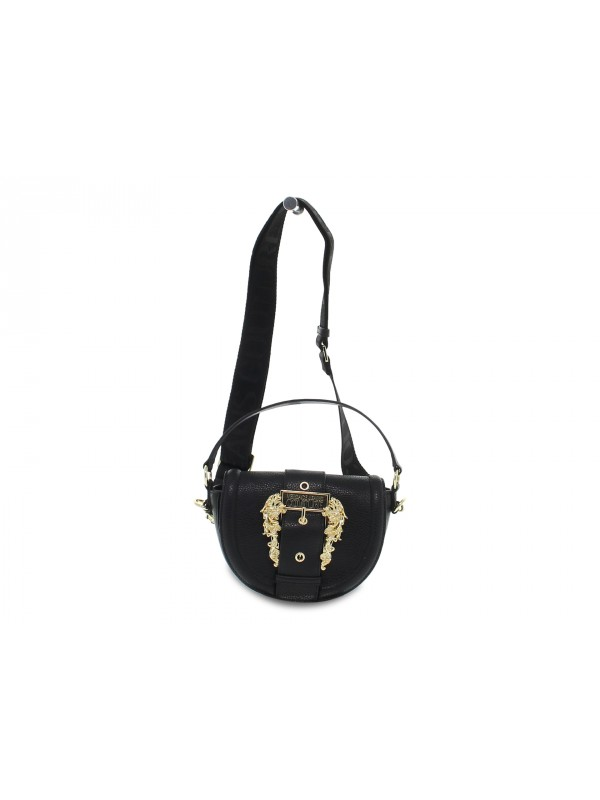 Borsa a mano Versace Jeans Couture JEANS COUTURE LINEA F DIS 2 BUCKLE BASIC in nappa nero