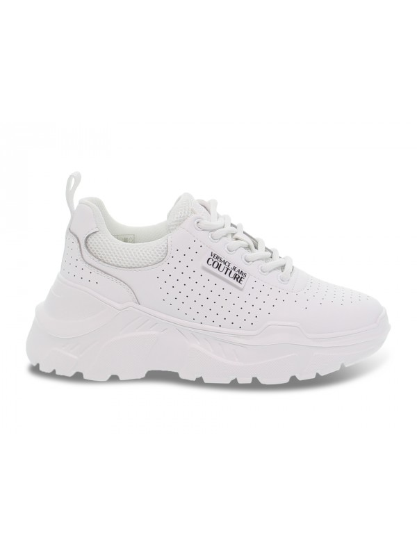 Sneakers Versace Jeans Couture JEANS COUTURE SPEED in pelle bianco