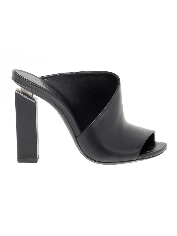 Sandalo con tacco Vic Matie in pelle