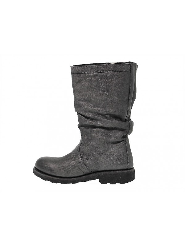 new product 98650 9f46a Stivale Bikkembergs VINTAGE in pelle