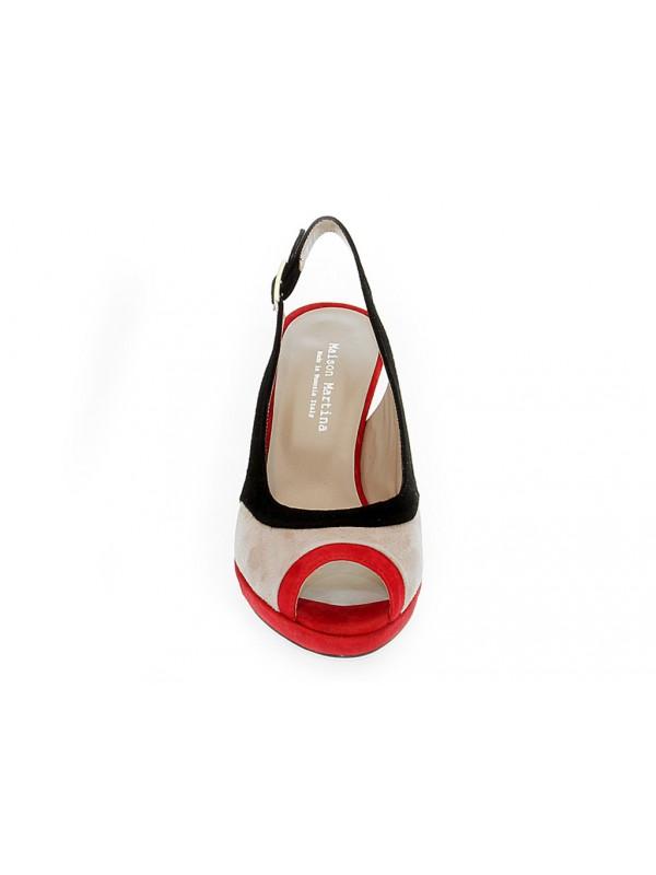 Sandalo alto Martina 7105