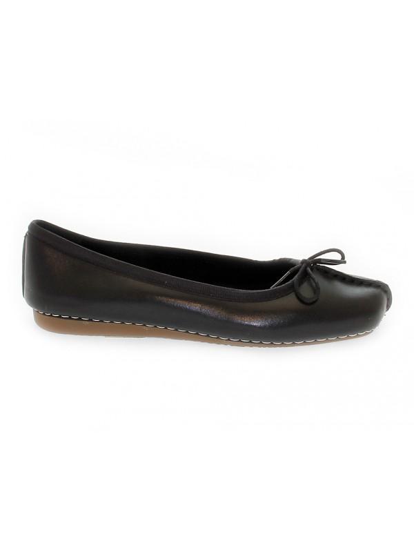 Flat shoe Clarks FRECKLE ICE in black