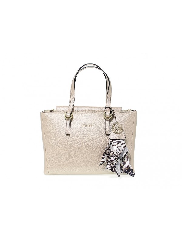 Handbag Guess TULIP in leather - Handbags - Accessories Women ... 83a8ec078b1e8