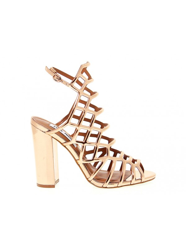 0e6ca8847f0e Heeled sandal Steve Madden SKALES in leather - Shoes Women - Outlet ...