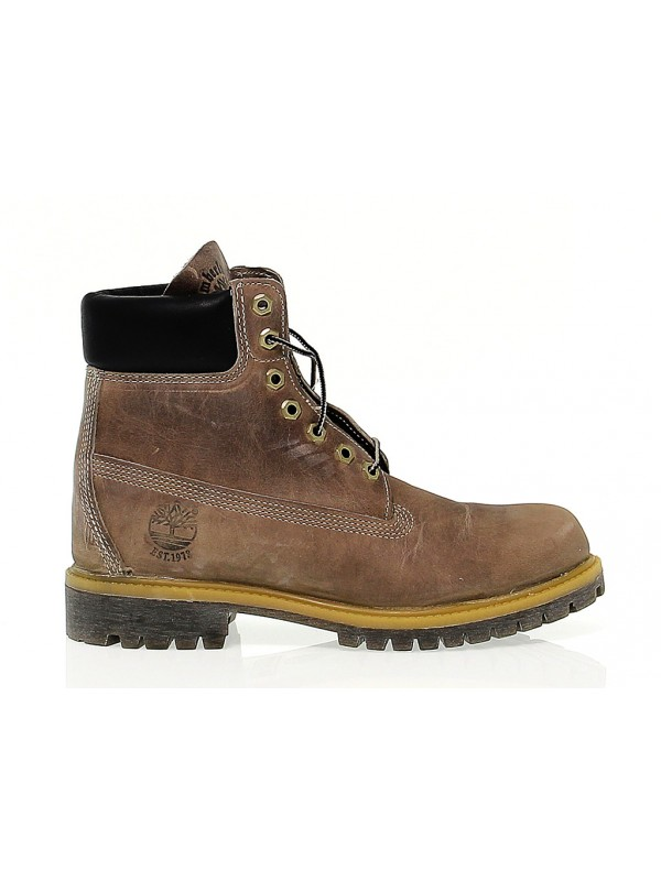 Low boot Timberland in leather - Timberland - Brands - New ... de1831e435f