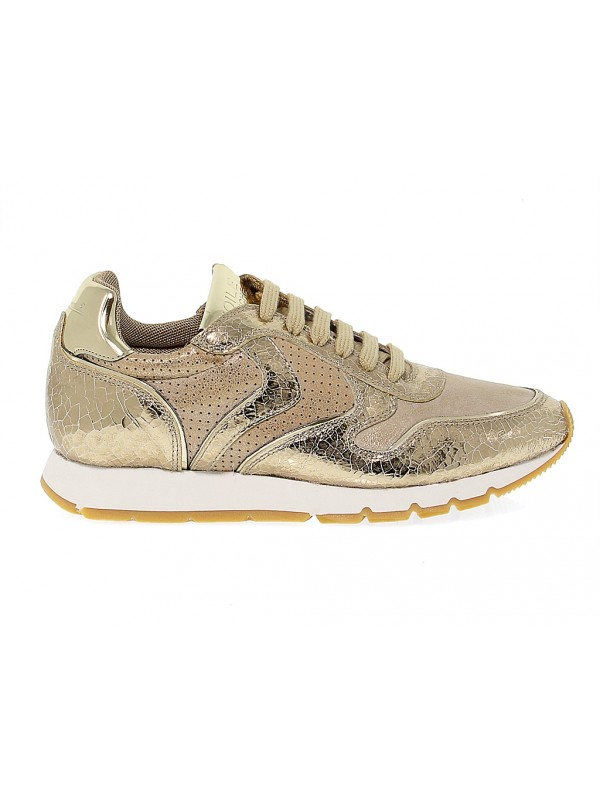 Sneakers Voile Blanche Julia In Leather Sneakers Shoes