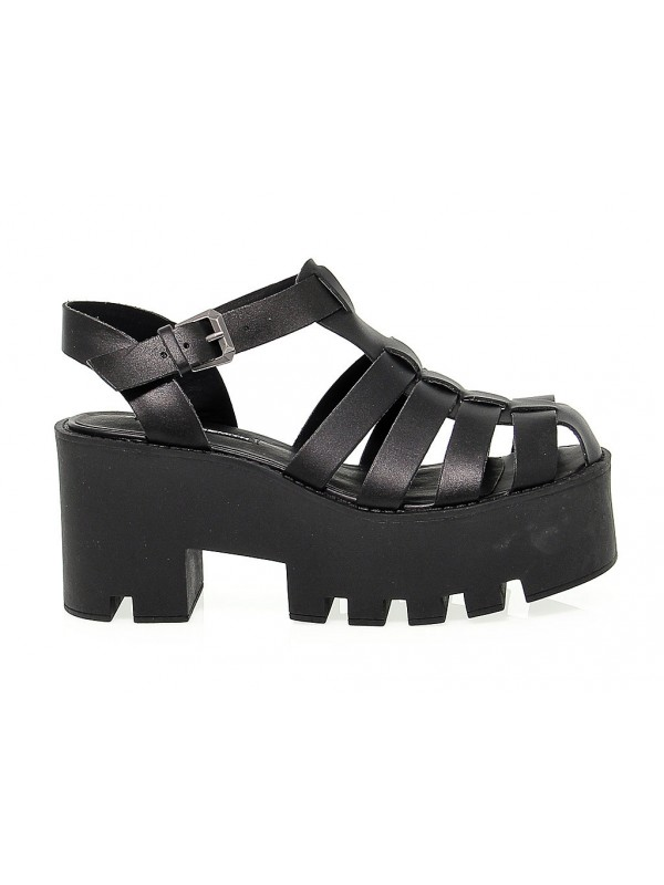 70c3799b56e Heeled sandal Windsor Smith FLUFFY in leather - New Collection ...