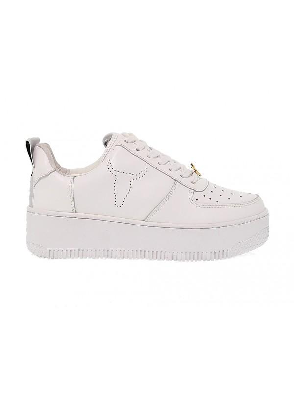 racerr white leather