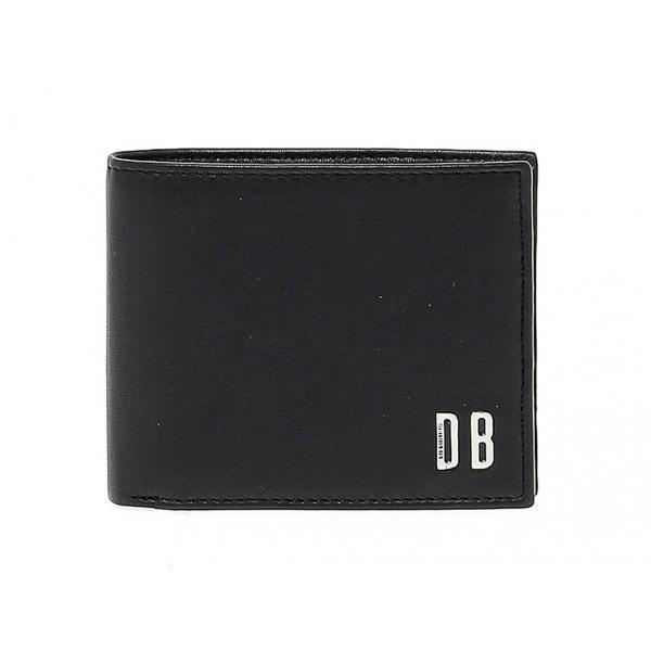 Wallet Bikkembergs WALLET INSIDE PRINT in leather