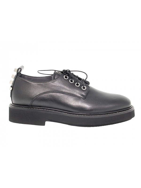 Flat shoe Cesare Paciotti 4us in leather