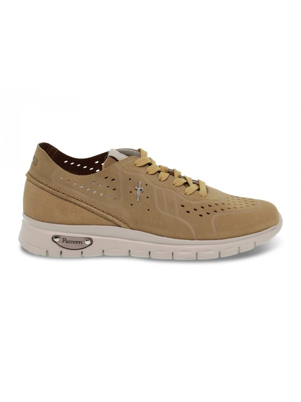 Sneakers Cesare Paciotti 4us WU2 MADISON in sand suede leather