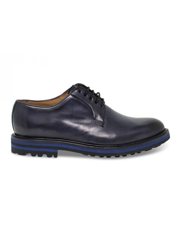 Lace-up shoes Artisti e Artigiani in blue leather