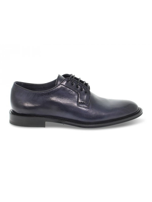 Lace-up shoes Artisti e Artigiani in blue leather