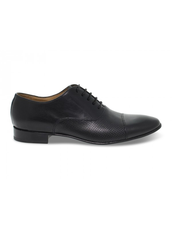 Lace-up shoes Artisti e Artigiani in black leather